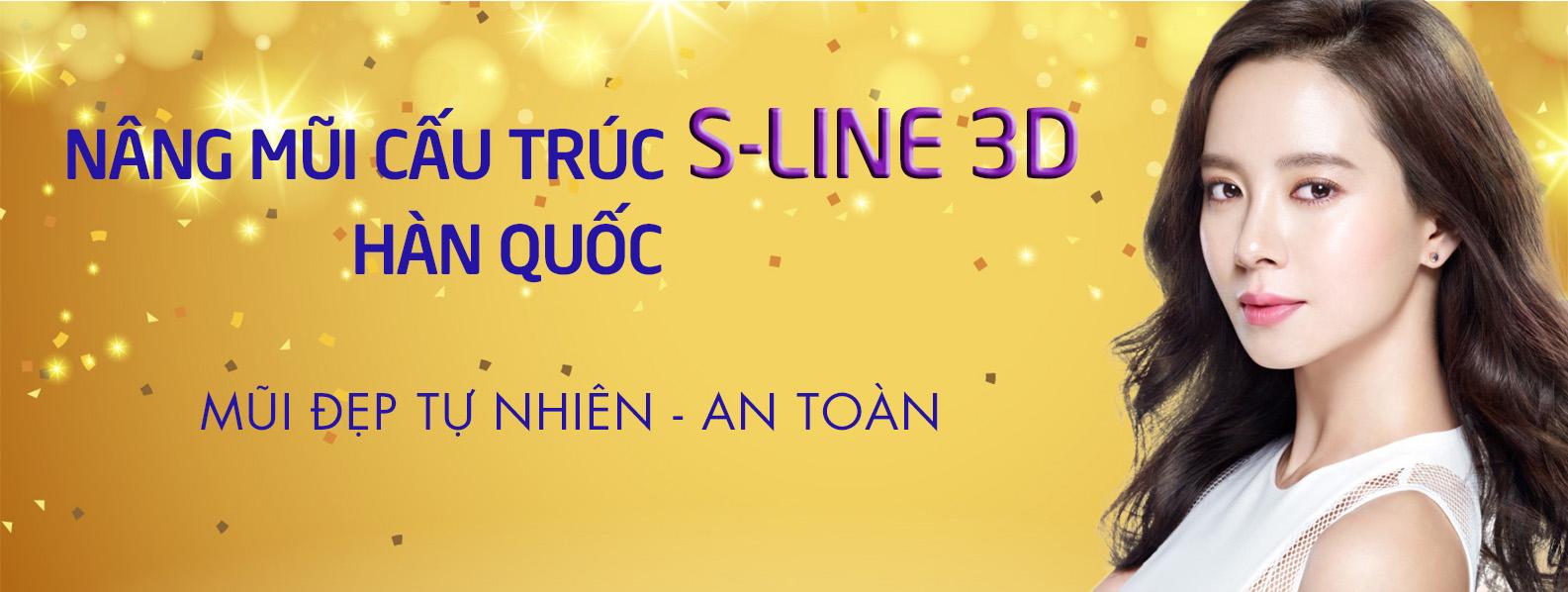 Nâng mũi S-line 3D Hàn Quốc